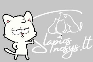 slapiosNosys logo+katinas
